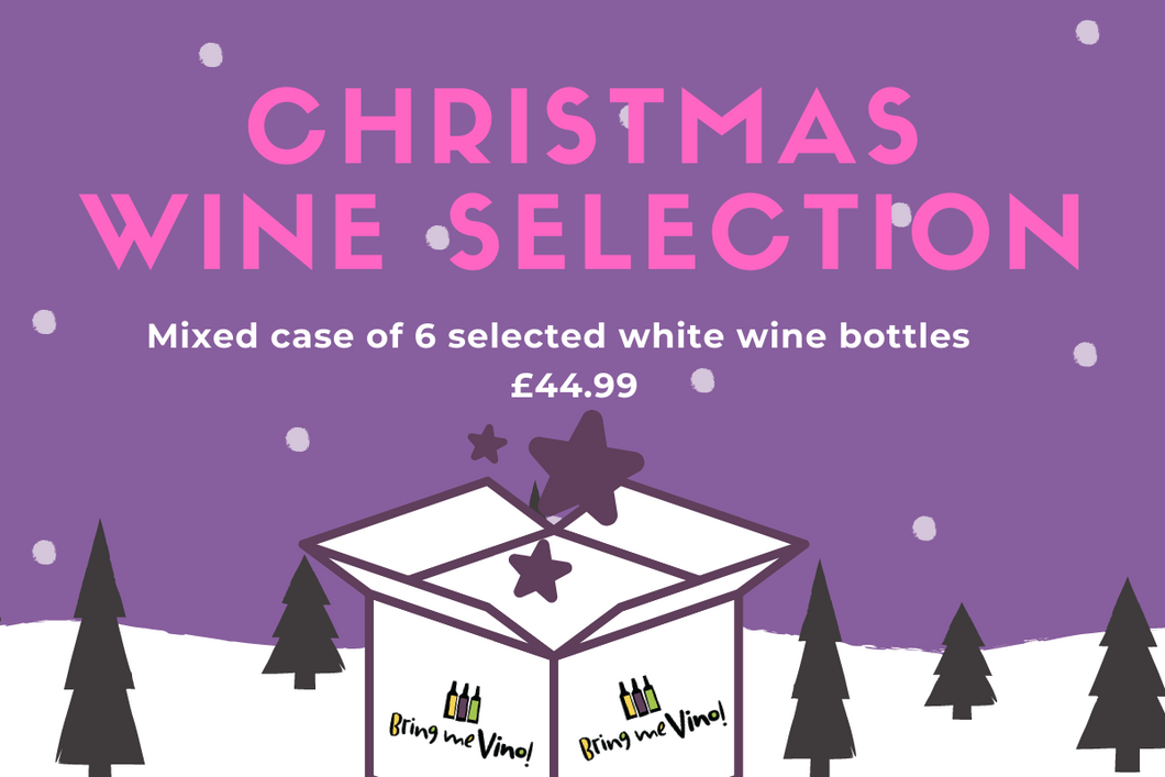 Christmas Wine Selection - Mixed white case of 6 wines