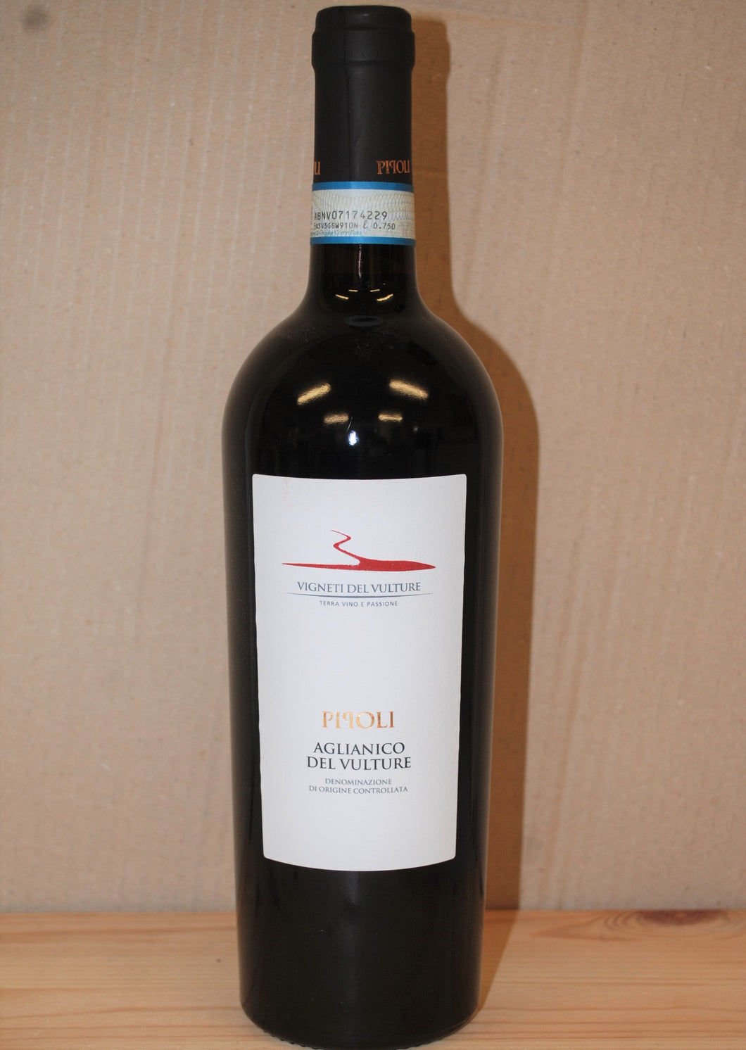 Aglianico Vigneti del Vulture Pipoli DOC - 750ml bottle