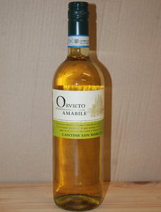 Orvietto Amabile Cantine San Marco - Case of 6 bottles of 750ml each bottle
