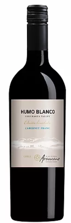 Humo Blanco Limited Edition Cabernet Chile CABERNET FRANC VALLÉE DE COLCHAGUA - 750ml Bottle