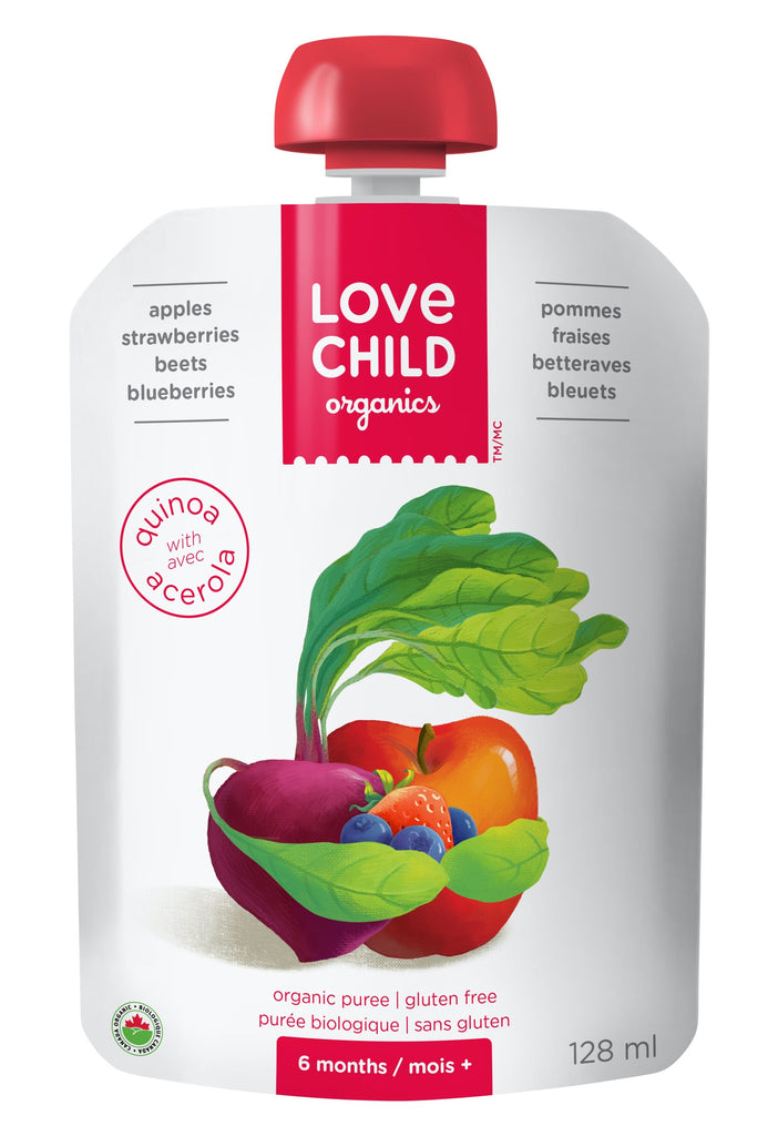 Superblends: Apples, Strawberries, Beets & Blueberries