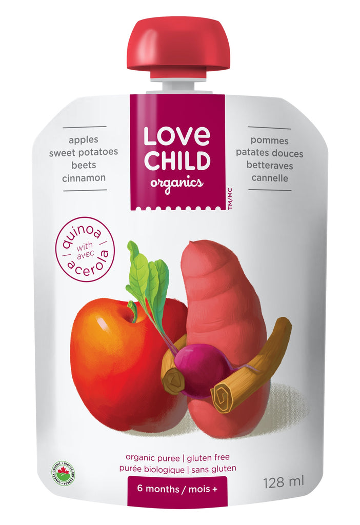 Superblends: Apples, Sweet Potatoes, Beets & Cinnamon