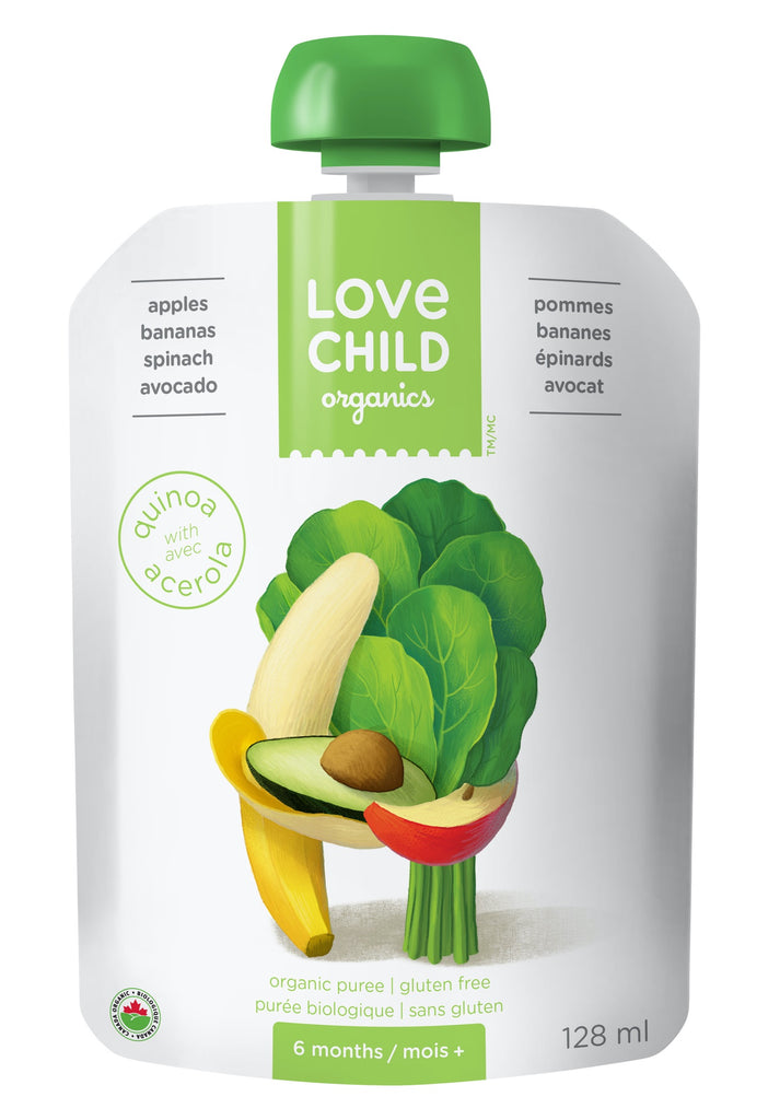 Superblends: Apples, Bananas, Spinach & Avocado