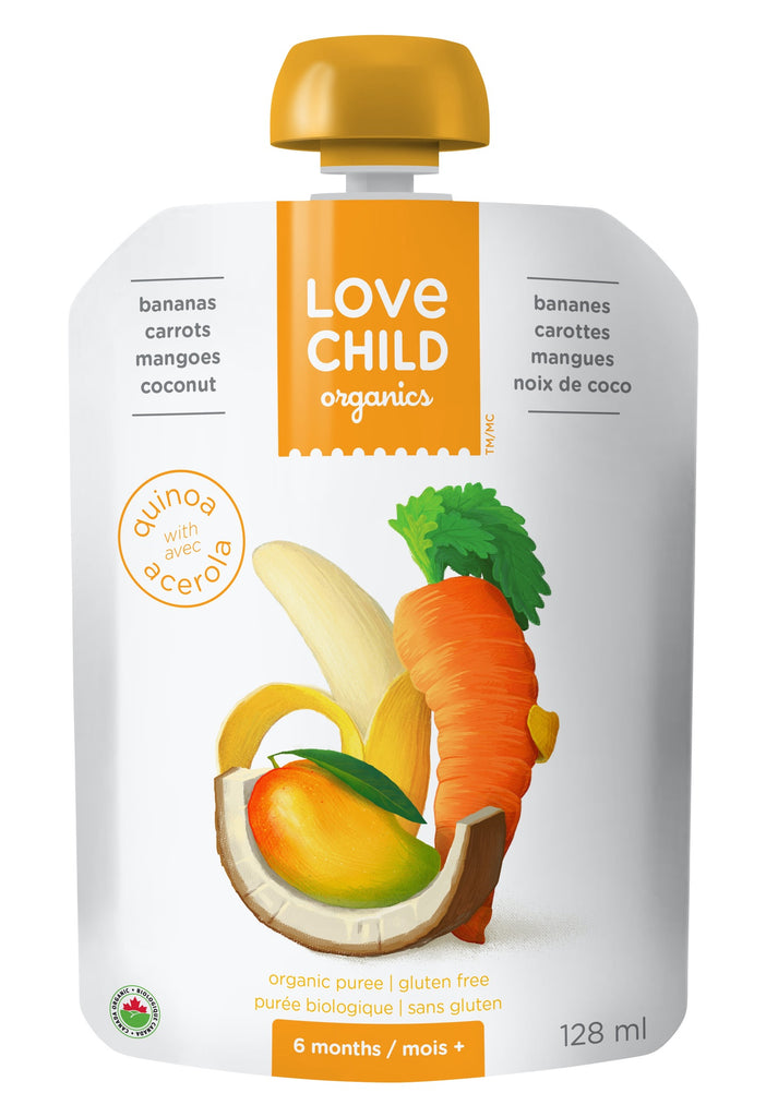 Superblends: Bananas, Carrots, Mangoes, Coconut