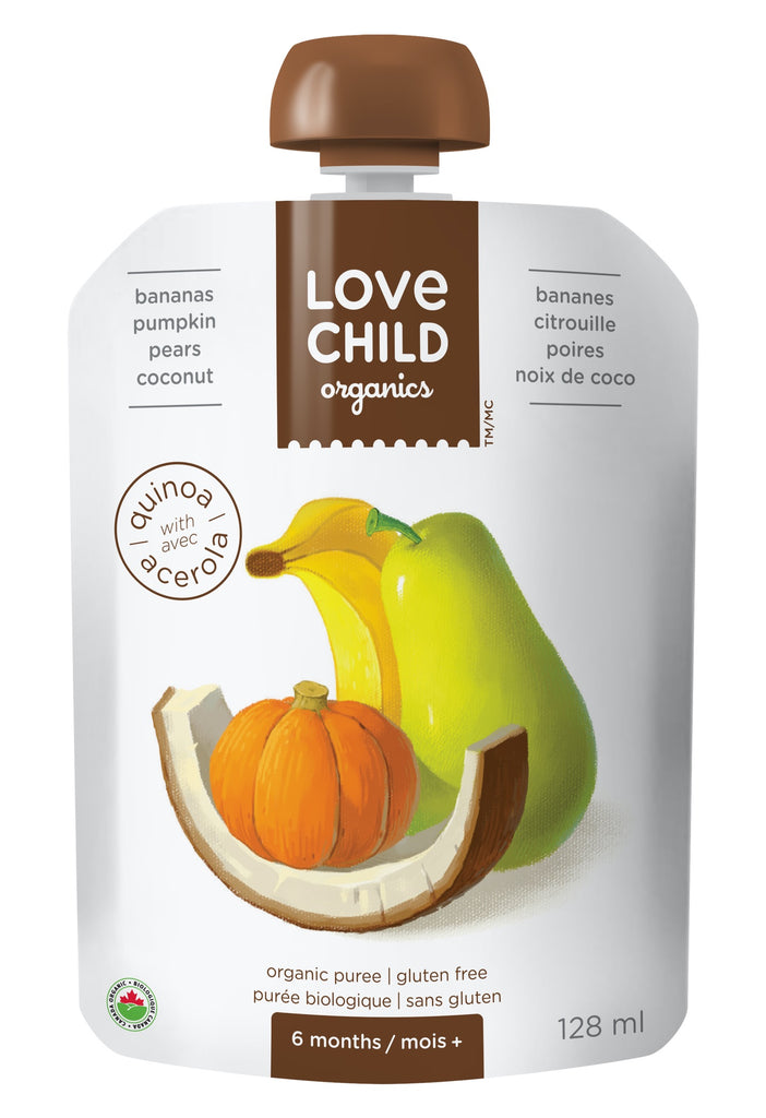 Superblends: Pears, Pumpkin, Bananas & Coconut
