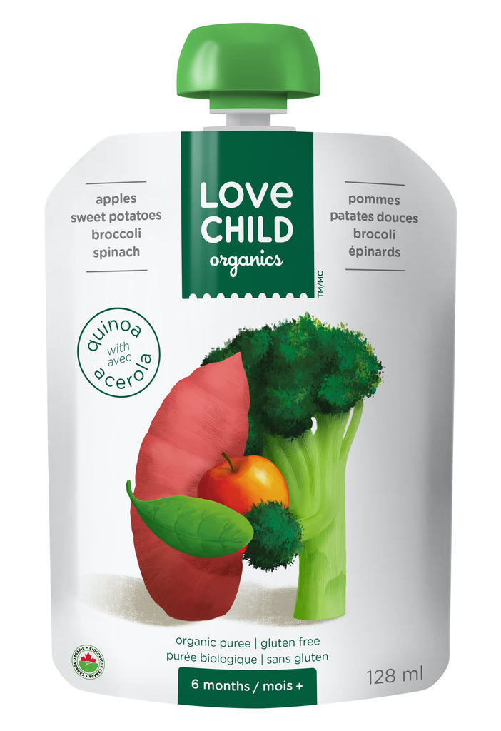 Superblends: Apples, Sweet Potatoes, Broccoli & Spinach