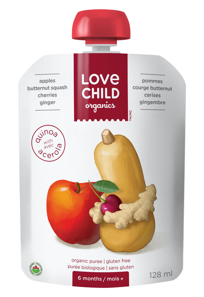 Superblends: Apples, Butternut Squash, Cherries & Ginger