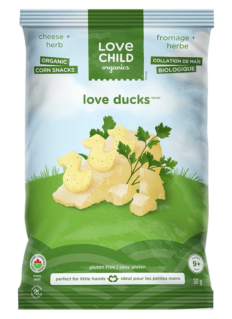 Love Ducks: Cheese & Herbs