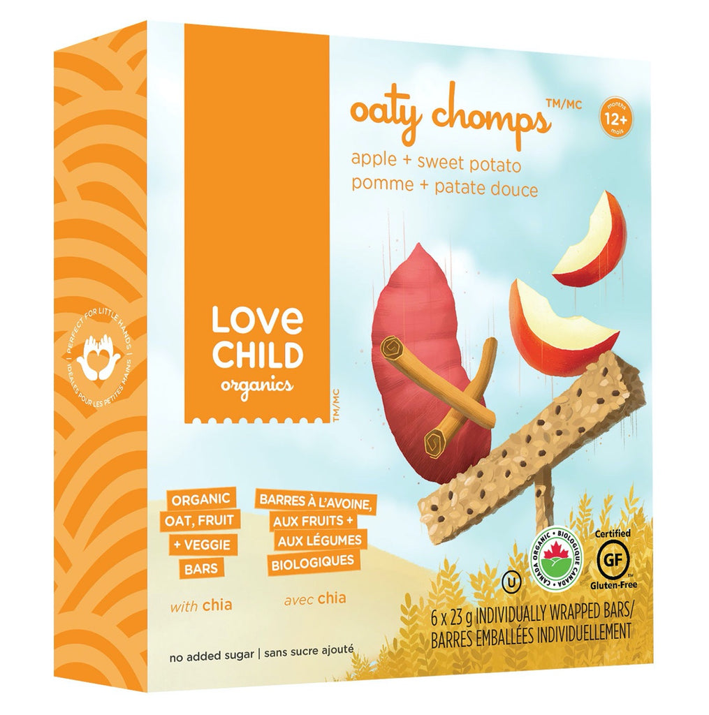 Oaty Chomps: Apple & Sweet Potato