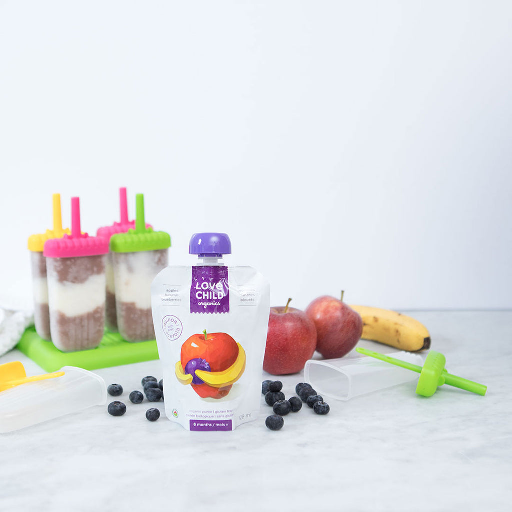 Superblends: Apples, Bananas & Blueberries