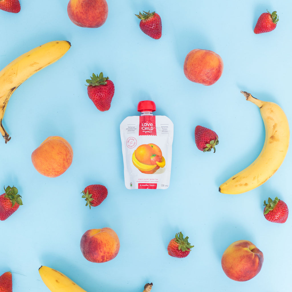 Superblends: Bananas, Strawberries & Peaches