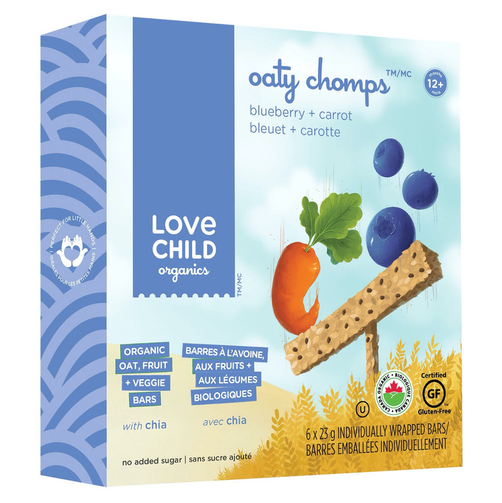 Oaty Chomps: Blueberry & Carrot