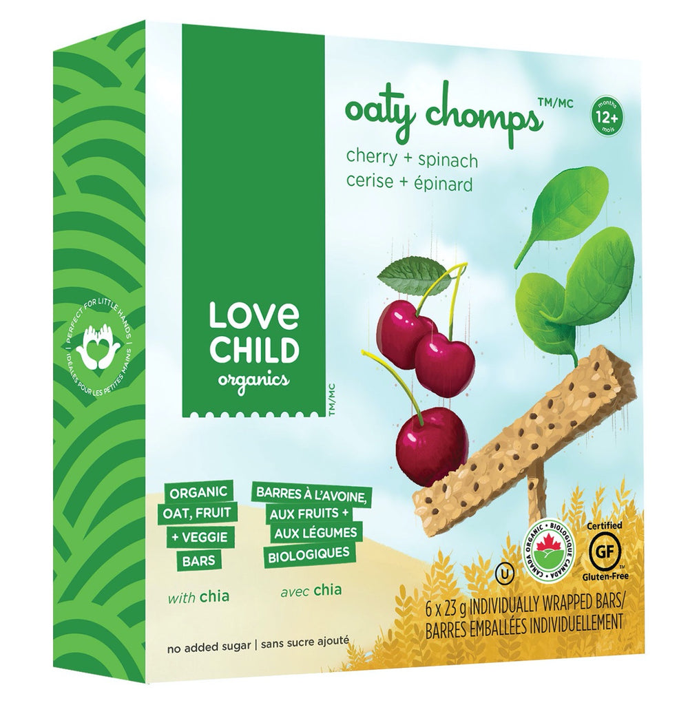 Oaty Chomps: Cherry & Spinach