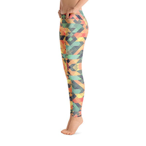 Women's Leggings Multi-colored Mosaic