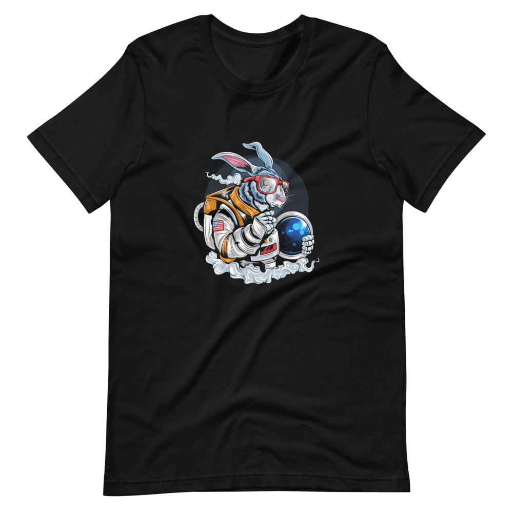 Short Sleeve T-Shirt Space Rabbit