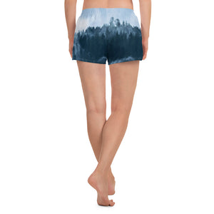 Women's Athletic Short Shorts Forest