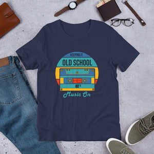 "Short Sleeve T-Shirt ""Old School 80's"""