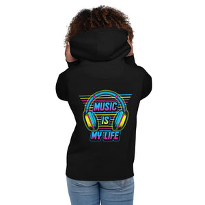"Hoodie ""Music Is My Life"""