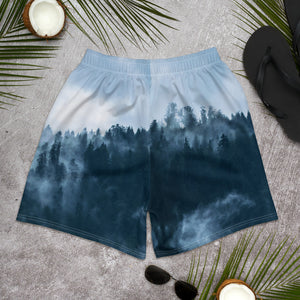 "Men's Athletic Long Shorts Forest ""Wild"""
