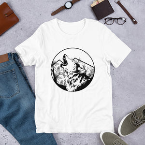 Short Sleeve T-Shirt Wolf