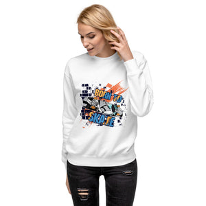 "Fleece Pullover ""Born To Skate"""