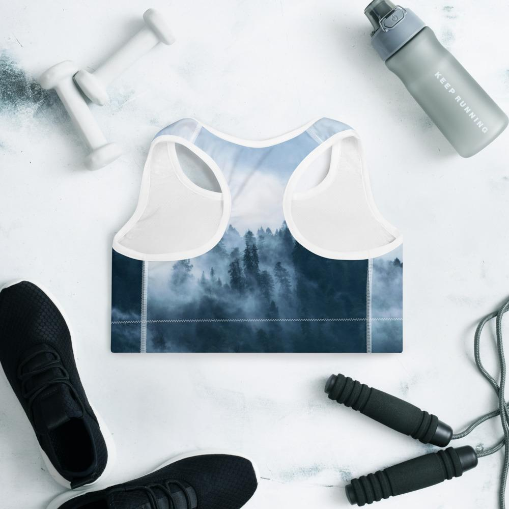 Padded Sports Bra Forest