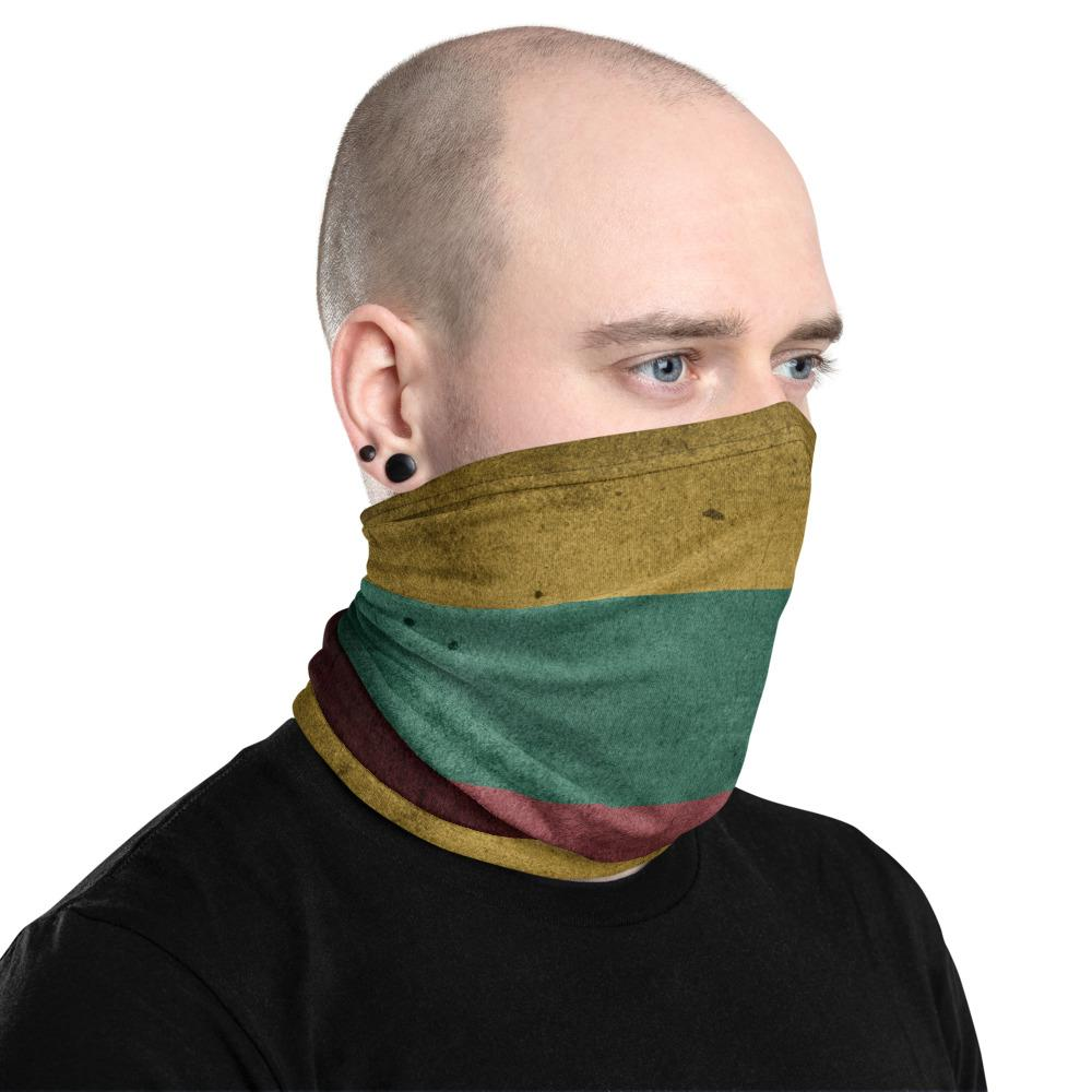 Unisex Neck Gaiter Flag Of Lithuania