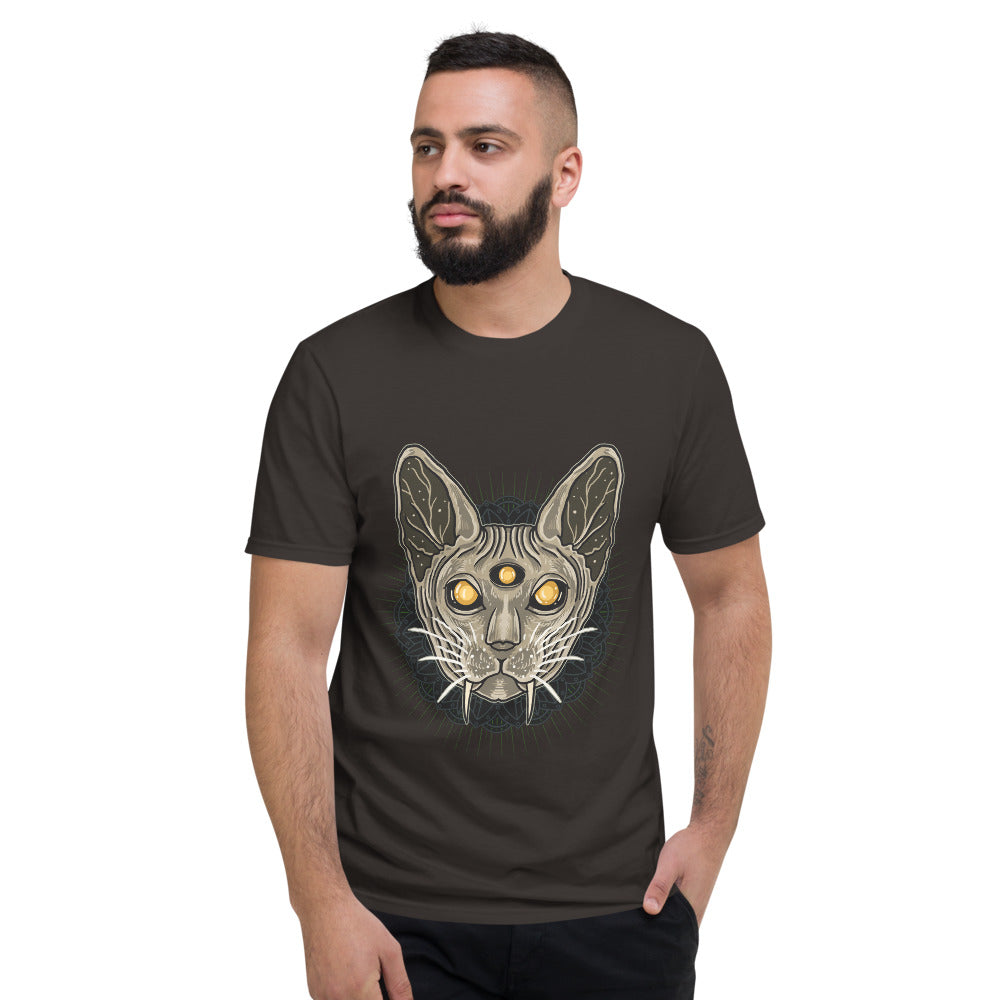 Men's Short Sleeve T-Shirt Sphynx Cat