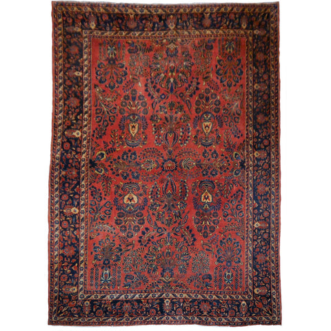 Sarouk Persian Antique Rug Mohajeran