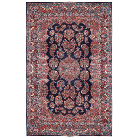 Sarouk Mohajeran antique persian carpet djoharian