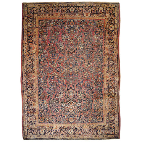 Farahan Sarouk Antique Persian Rug Carpet