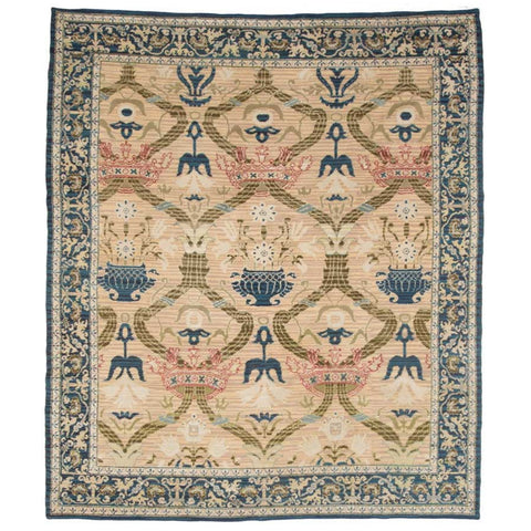 Antique Spanish Room Size Rug for dining room