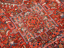 Load image into Gallery viewer, Karaja Heriz antique rug 6.4 x 4.8 ft