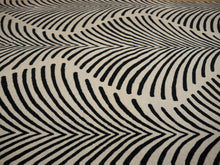Load image into Gallery viewer, Art Deco Design Zebra Rug hand-knotted wool