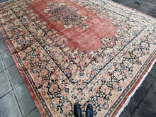 Load image into Gallery viewer, Sarouk Mahal Oversized Vintage Rug 18 x 13 ft