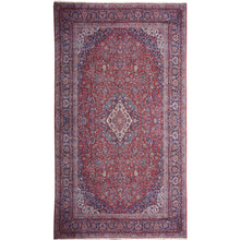 Load image into Gallery viewer, Kashan antique oversize rug 18 x 11 ft
