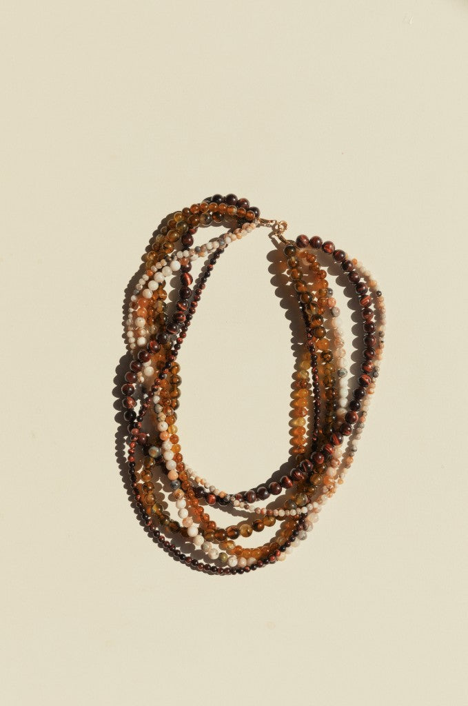 Warrukathi Necklace- Ochre