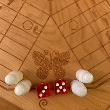 Load image into Gallery viewer, 6 Player Animal Theme Pachisi Board