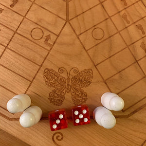 6 Player Animal Theme Pachisi Board