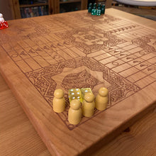 Load image into Gallery viewer, 4 Player Animal Theme Pachisi Board