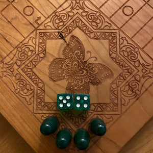 4 Player Animal Theme Pachisi Board
