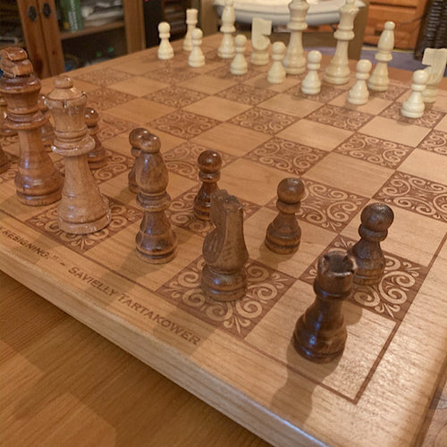 Large Wooden Chess Boards