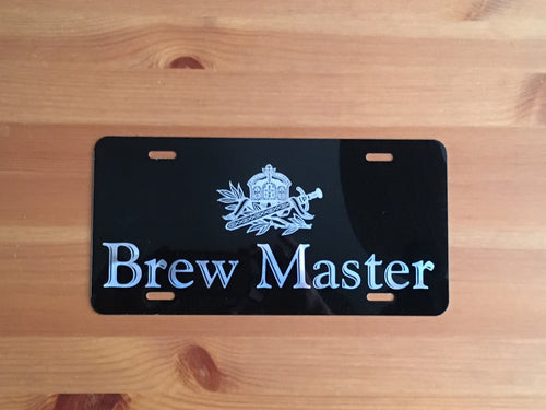 Laser Engraved Beer License Plates