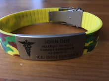 Load image into Gallery viewer, Emergency ID Bracelets