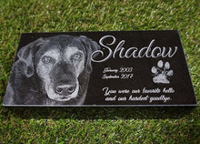 Load image into Gallery viewer, Laser Engraved Granite Pet Memorials