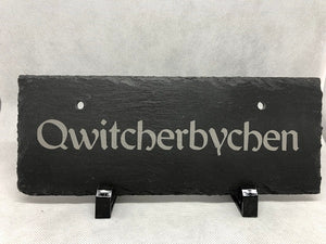Custom Slate Signs - Rectangle