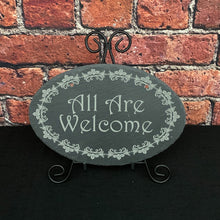 Load image into Gallery viewer, Custom Slate Signs - Oval