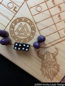 6 player Viking Theme Pachisi Board