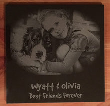 Load image into Gallery viewer, Laser Engraved Granite Pet Plaques