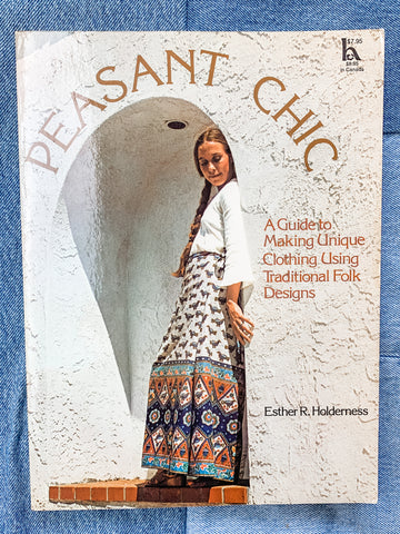 Peasant Chic: A Guide to Making Unique Clothing Using Traditional Folk Designs - My Best Vintage Life Podcast